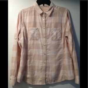 Woolrich plaid shirt - large